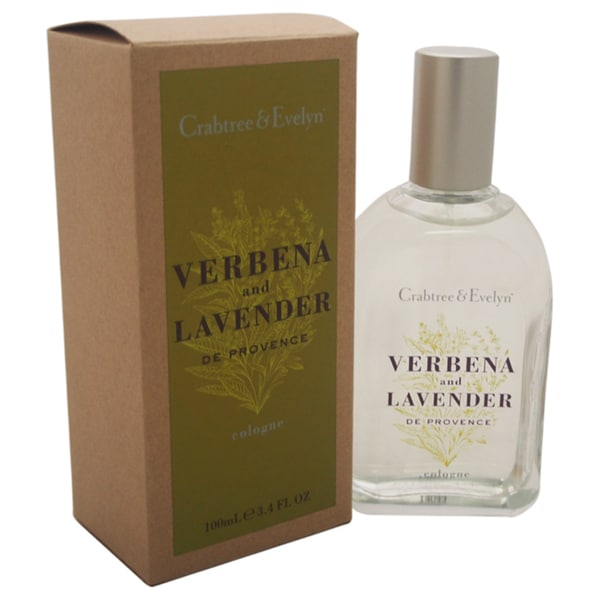 Crabtree & Evelyn Verbena and Lavender de Provence Unisex 3.4-ounce Cologne Spray
