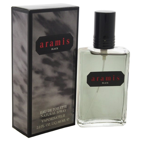 Aramis Black Men's 2-ounce Eau de Toilette Spray