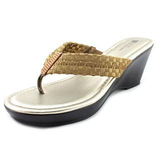 White Mountain Women's 'Wishlist' Fabric Sandals