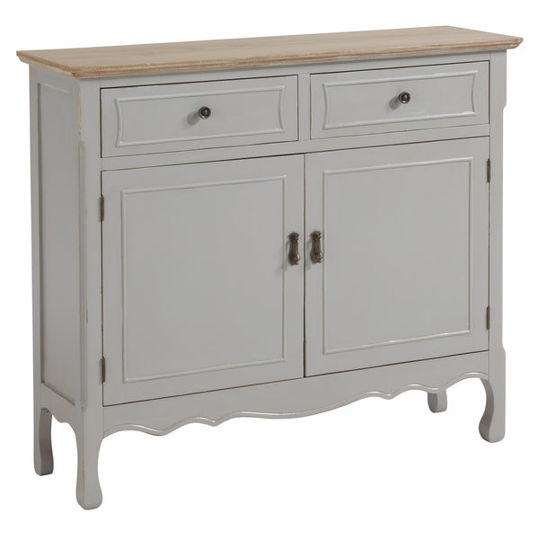 Marcela Grey Distressed Cabinet