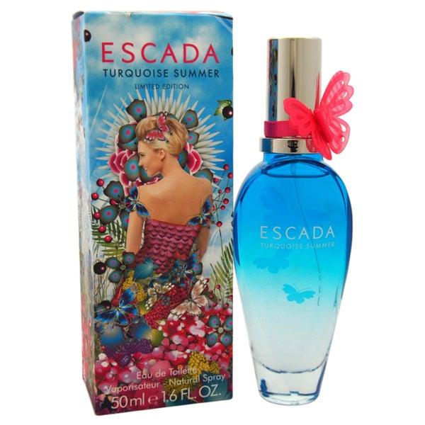 Escada Turquoise Summer Women's 1.6-ounce Eau de Toilette Spray (Limited Edition)