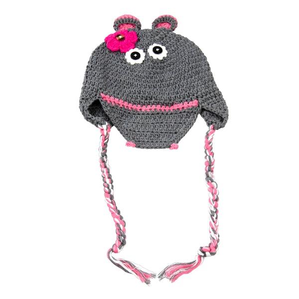 Grey Hippo Hat