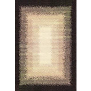 Greyson Living Ombre Chocolate/ Grey/ Tan Olefin Area Rug (5'3 x 7'6)