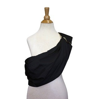 The Peanut Shell Cotton Adjustable Sling in Black
