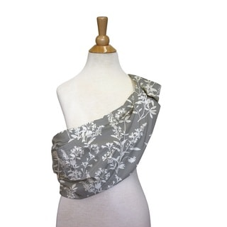 The Peanut Shell Cotton Adjustable Sling in Whisper Print