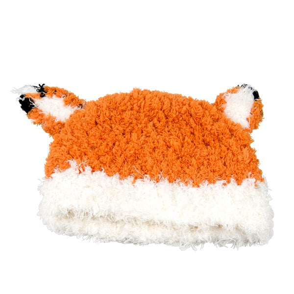Orange Fox Hat