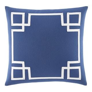 Nautica Bell Point Fretwork Decorative Pillow