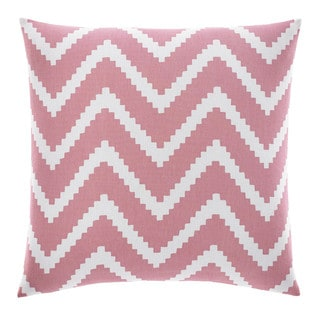 Nautica Bell Point Pink Chevron Decorative Pillow
