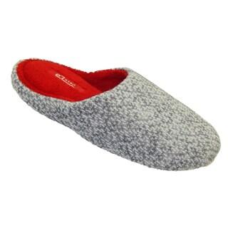 Vecceli Women's Fuzzy Grey Slippers