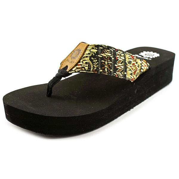 Yellow Box Women's 'Asha' Fabric Sandals