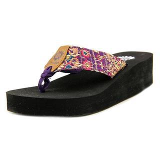 Yellow Box Women's 'Asha' Fabric Sandals