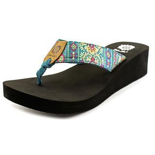 Yellow Box Women's 'Sutra' Fabric Sandals