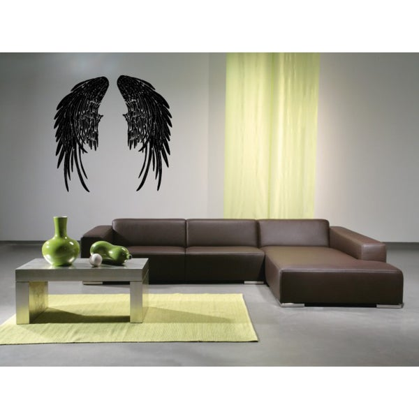 The wings of a fallen angel Wall Art Sticker Decal