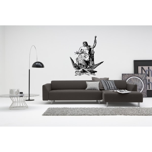 Zeus, God of War Wall Art Sticker Decal