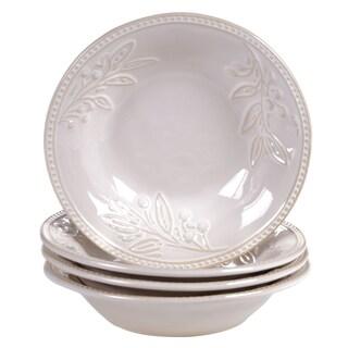 Certified International Binaca Ivory 9.5-inch Soup/Pasta Bowl (Set of 4)
