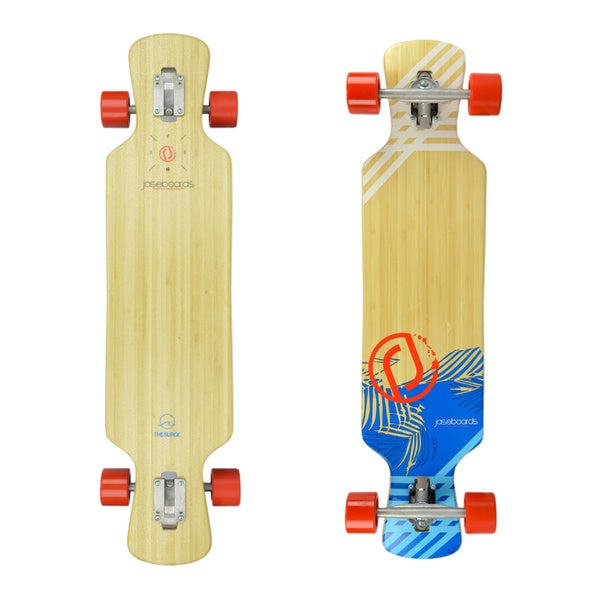 Surge Bamboo Longboard Skateboard