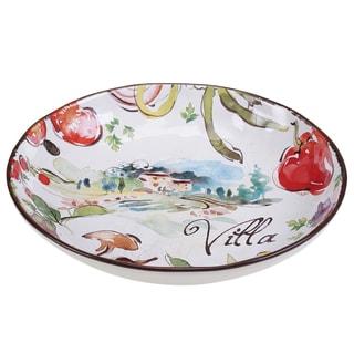 Certified International Villa Serving/Pasta Bowl 12.75-inch x 2.25-inch