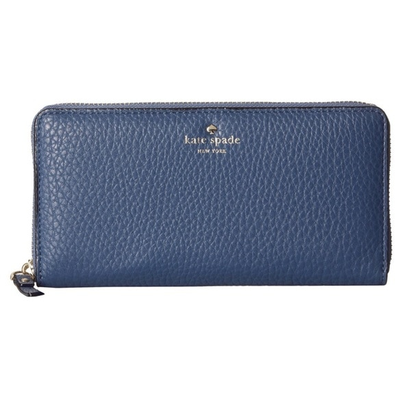 Kate Spade New York Cobble Hill Lacey Moonlight Blue Wallet
