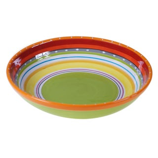 Certified International Bianca Green Serving/Pasta Bowl 13.25-inch x 3-inch