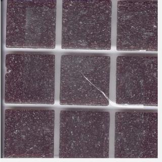 Grape Purple Brio 0.75-inch Mosaic Tiles