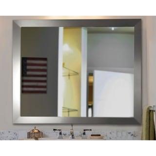 American Made Rayne Silver Wide Wall Mirror
