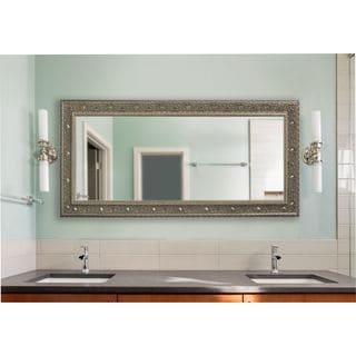 American Made Rayne Extra Large Opulent Silver Mirror