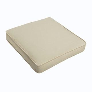 Sloane Ivory Square Cushion - Corded