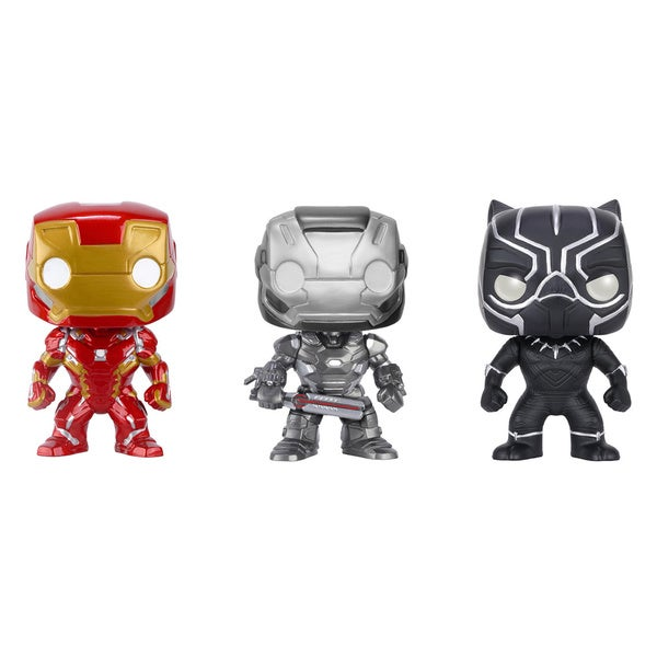 Funko Captain America 3 Civil War POP! Marvel Collectors Set