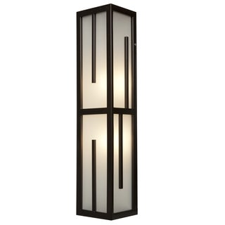 Access Lighting Zen 2-light 26 inch Vertical Bronze Wall Sconce