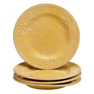 Certified International Binaca Gold 11-inch Dinner Plates (Set of 4)