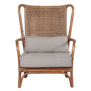 Crafted Home's Isla Upholstered Chair in Brown