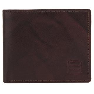 Suvelle Bifold Mens Genuine Leather RFID Wallets Slim Travel Wallet