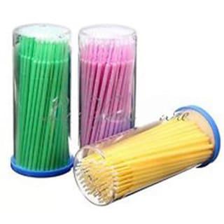 Microbrushes X 4 Tubes Lint free applicators(400 Pcs)
