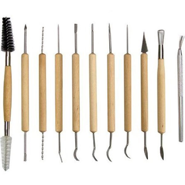 11-Piece Pottery Tool Set