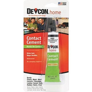 DEVCON Contact Cement 1 fl. oz .tube carded (29 ml)