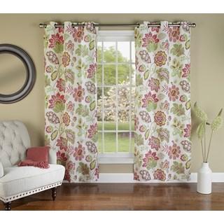 Tessa 84-inch Curtain Grommet Panel Pair