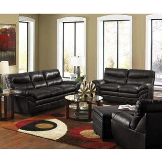 Simmons Upholstery Sebring Bonded Leather Double Motion