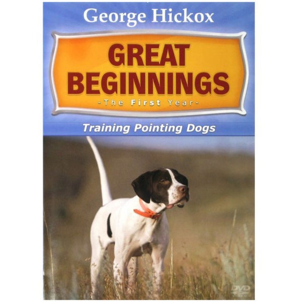 D.T. Systems Great Beginning: The First Year- Pointing Dogs DVD 17648935