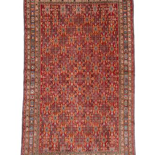 Ecarpetgallery Hand-knotted Persian Shiraz Qashqai Red Wool Rug (10' x 15'8)