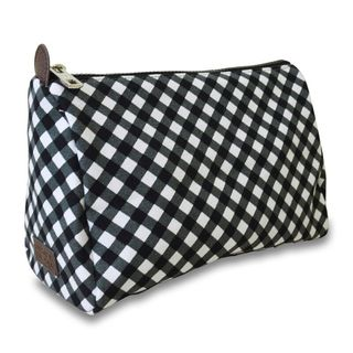 Sloane Ranger Gingham Cosmetic Travel Pouch