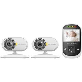 Motorola MBP25-2 Wireless Video Dual Camera Baby Monitor
