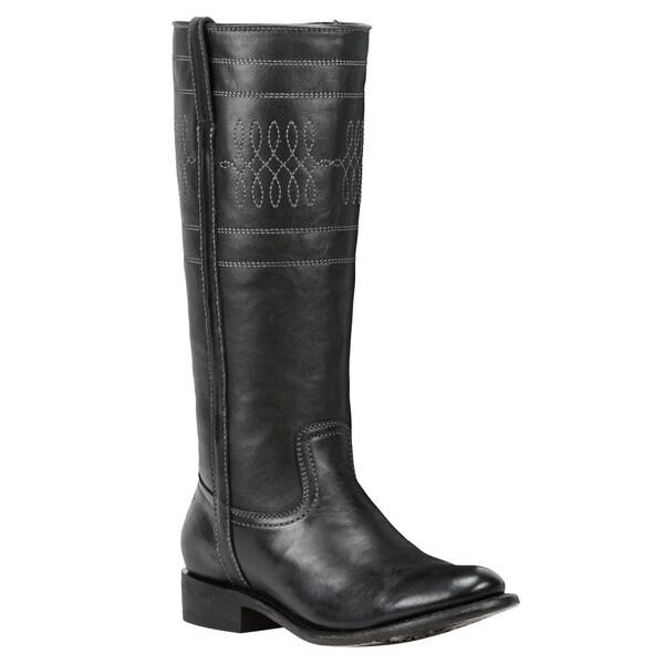 Black Star Women's Sirius Black Leather Boots