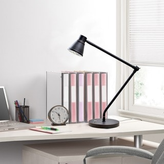Tensor 19850-000 19-Inch Dual Reach Bronze Adjustable LED Desk Lamp