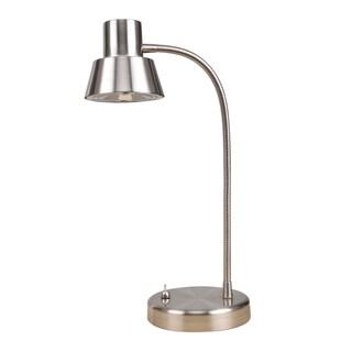 Tensor 19181-002 14-Inch Brushed Nickel Gooseneck LED Desk Lamp
