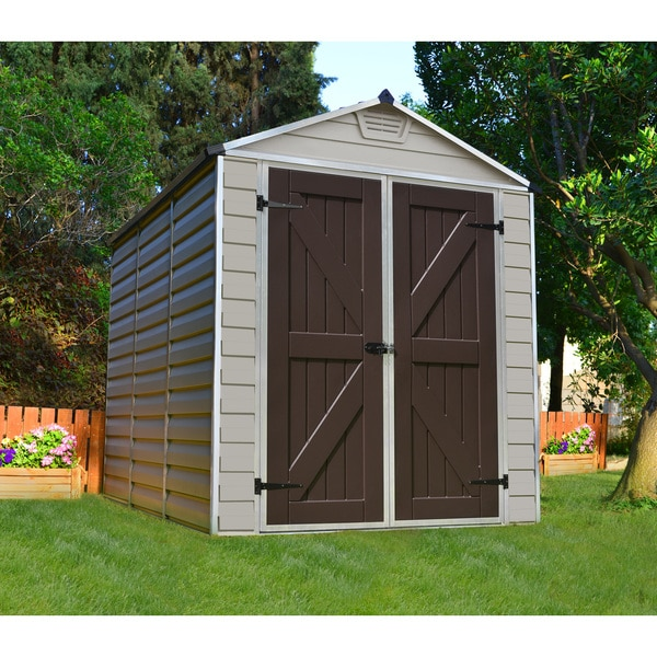 Skylight Tan 6x8 Shed