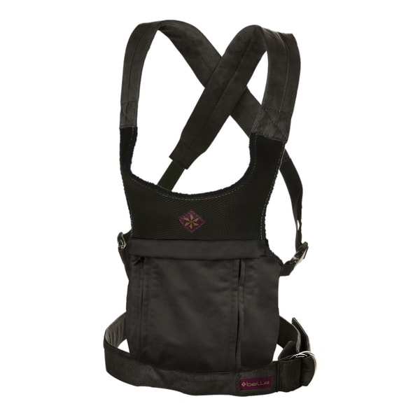 Black Microsuede Cruz Baby Carrier