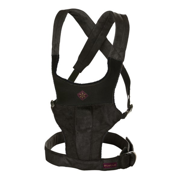 Black Microsuede Fit Baby Carrier