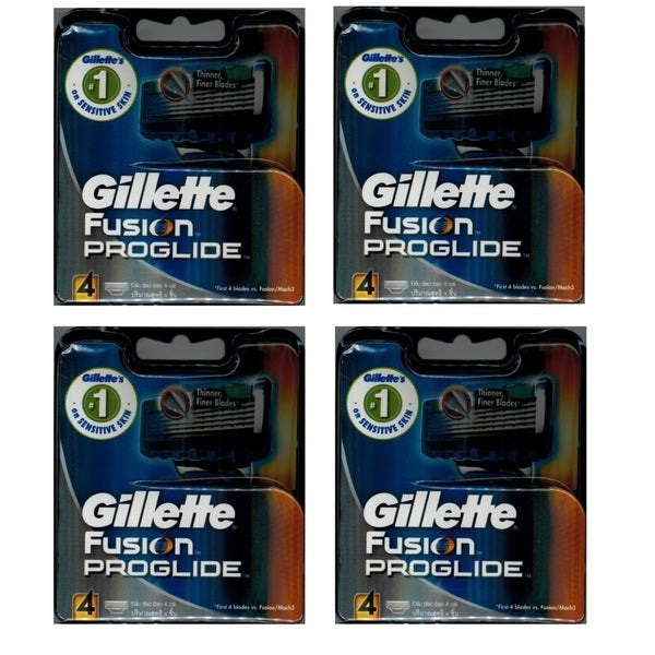 Gillette Fusion Proglide 4-count Refill Cartridge Blades