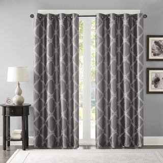 Bombay Teramo Embroidered Lined Polyoni Window Panel