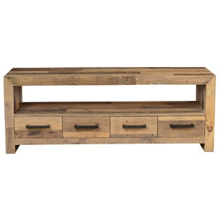 Kosas Home Oscar Natural 4 Drawer TV Stand